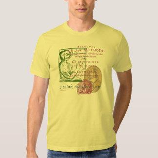 Rene Descartes Tee Shirt
