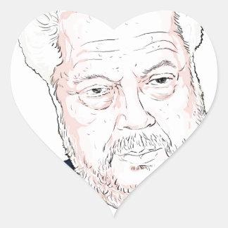 Rene Rivkin Heart Sticker
