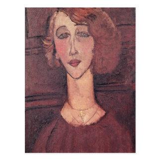 Renee, 1917 postcard