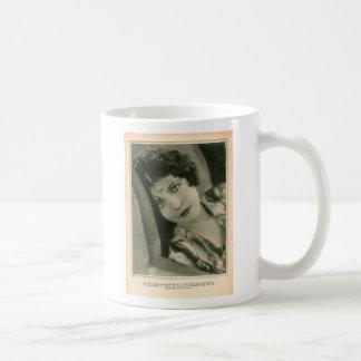 Renee Adoree 1928 Basic White Mug