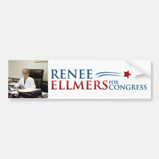 Renee Ellmers For Congress Bumper Sticker