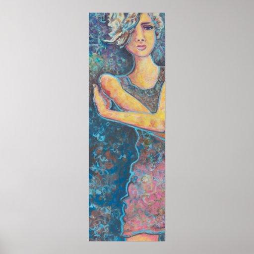 """Renee, Figure Art Poster 12"""" x 36"""""""