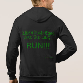 Renee Moller When Irish Eyes Are Smiling Hoodie