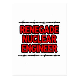 Renegade Nuclear Engineer Postcard