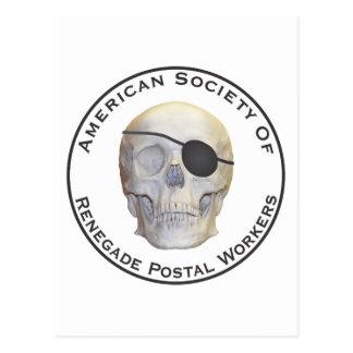 Renegade Postal Workers Postcard