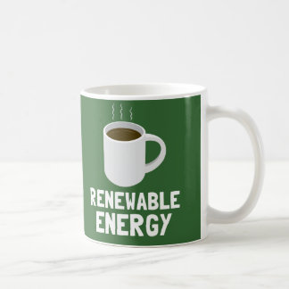 Renewable Energy Basic White Mug
