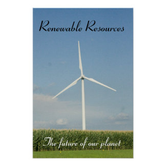 Renewable Resources Poster