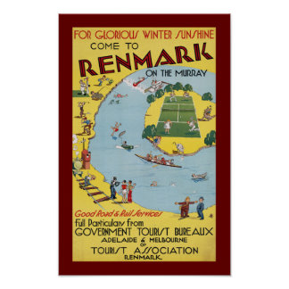 Renmark on the Murray Poster