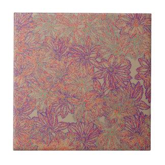 Rennie's Daisy Print Ceramic Tile