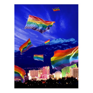 Reno Flying Pride Postcard