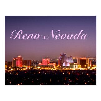 Reno Glows Postcard