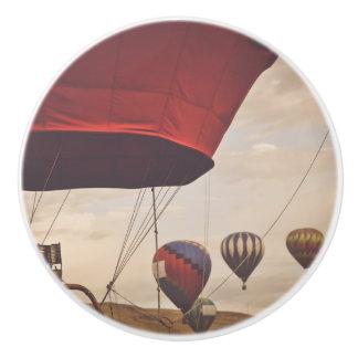 Reno Hot Air Balloon Race Ceramic Knob