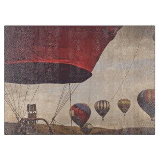 Reno Hot Air Balloon Race Cutting Board