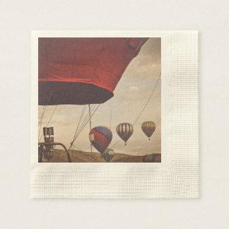 Reno Hot Air Balloon Race Disposable Serviette