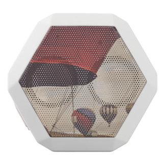 Reno Hot Air Balloon Race White Bluetooth Speaker