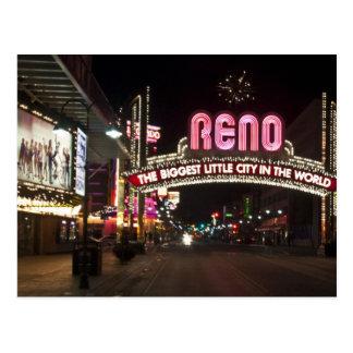 Reno NV Postcard