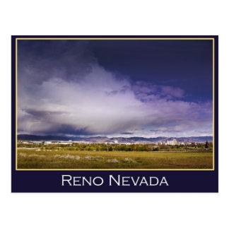 Reno power cloud postcard