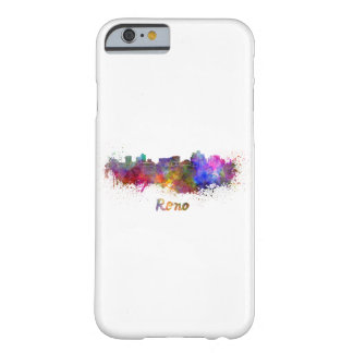 Reno skyline in watercolor barely there iPhone 6 case