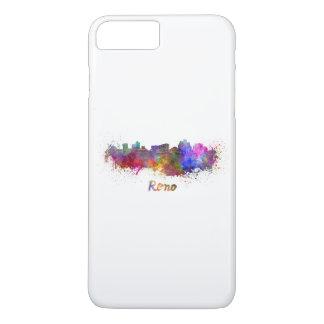 Reno skyline in watercolor iPhone 8 plus/7 plus case