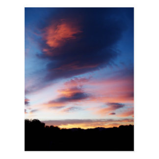 Reno Sunrise Postcard