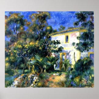 Renoir - Algerian Landscape Poster