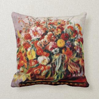 Renoir - Basket of Flowers Cushion