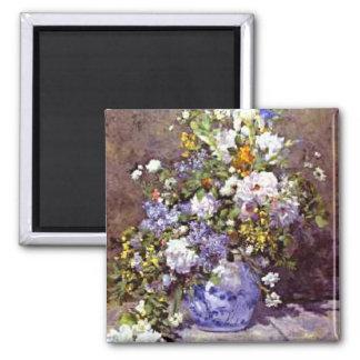 Renoir: Blue Vase Magnet