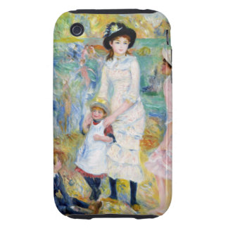Renoir - Children on the Seashore Tough iPhone 3 Case