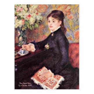 Renoir - Cup of Chocolate, 1878 Postcard
