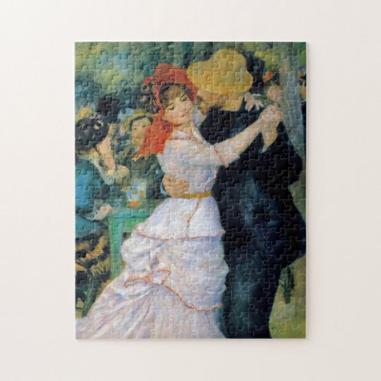 Renoir Dance at Bougival Fine Art Jigsaw Puzzle