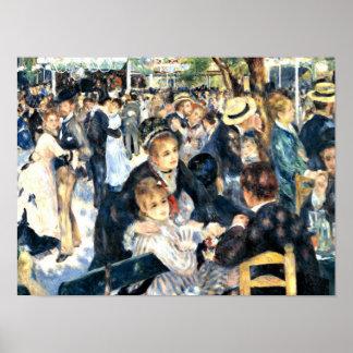 Renoir - Dance at Le Moulin de la Galette Poster