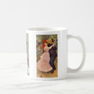 Renoir - Dance in the City, Country, and Bougival Coffee Mug