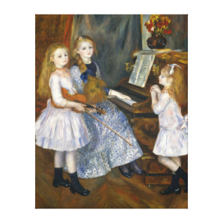 Renoir Daughters of Catulle Mends Huguette Canvas Print