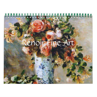 Renoir Fine Art Calendar