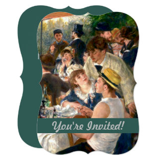 Renoir French Luncheon at the Boating Party art Card