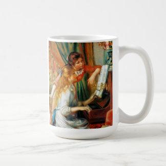 Renoir Girls at the Piano Mug