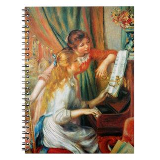 Renoir Girls at the Piano Notebook