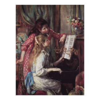 Renoir: Girls at the Piano Poster