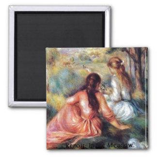 Renoir: In the Meadow Magnet