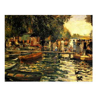 Renoir - La Grenouillere Post Card