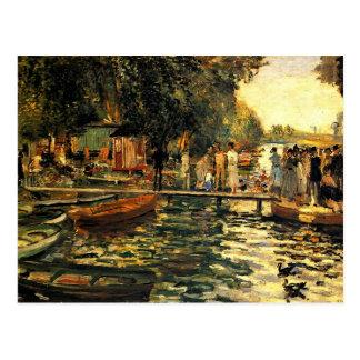 Renoir - La Grenouillere Postcard