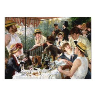 Renoir: Luncheon of the Boating Party Card