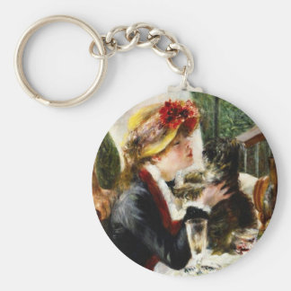 Renoir Luncheon of the Boating Party Key Chain