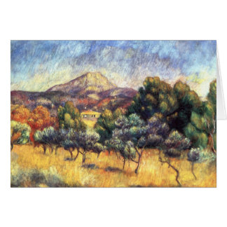 Renoir: Mount Sainte-Victoire Card