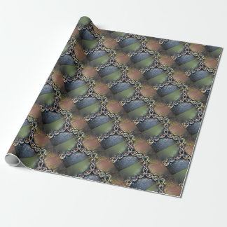 Renoir Newton's Method Fractal Wrapping Paper
