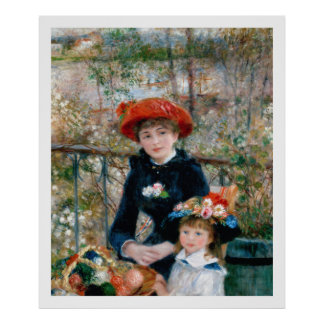 Renoir - On the Terrace Poster