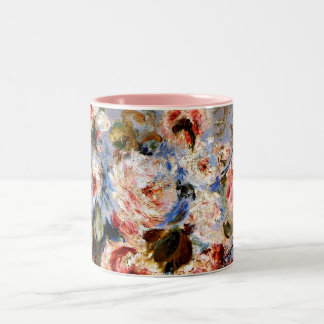 Renoir - Roses from Wargemont Two-Tone Coffee Mug