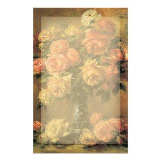 Renoir Roses Stationery