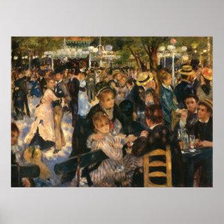Renoir s Bal du de la Galette 1876 Print