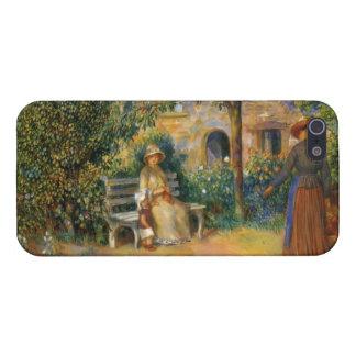 Renoir: Scene of the Garden in Brittany iPhone 5 Case
